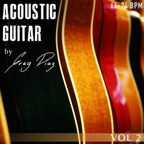 Product picture Greg Diaz Acoustic Guitar Vol 2 - 1/2 Price Sale