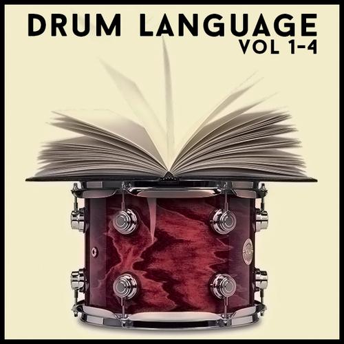 Product picture Drum Language Vols 1-4 60 off Sale