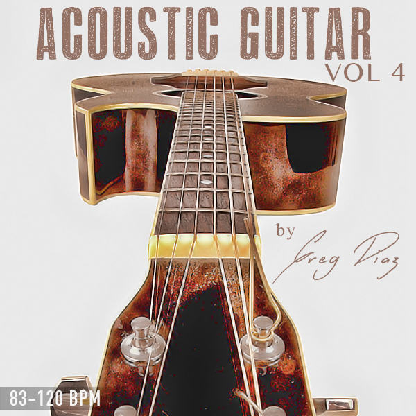 Product picture Greg Diaz Acoustic Guitar Vol 4 - 1/2 Price Sale