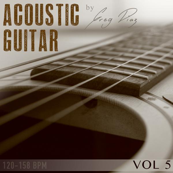 Product picture Greg Diaz  Acoustic Guitar Vol 5 - 1/2 price Sale